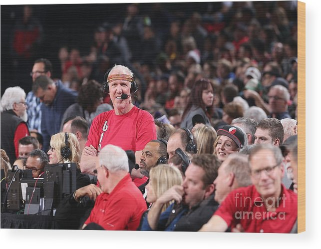 Nba Pro Basketball Wood Print featuring the photograph Bill Walton by Sam Forencich