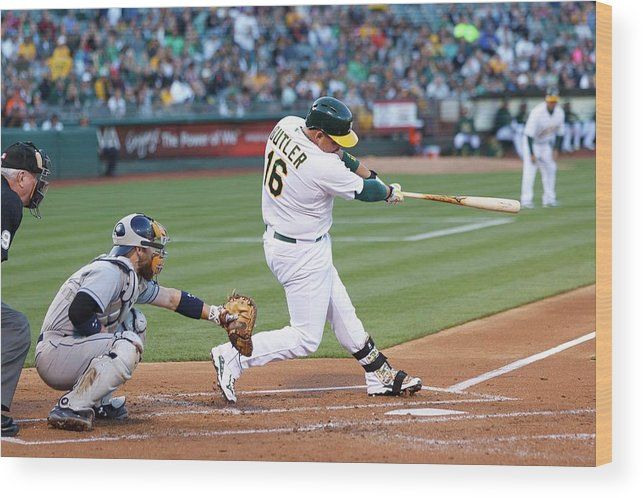 People Wood Print featuring the photograph Billy Butler by Jason O. Watson