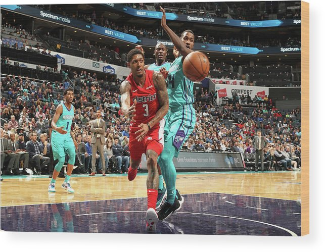 Nba Pro Basketball Wood Print featuring the photograph Bradley Beal by Kent Smith