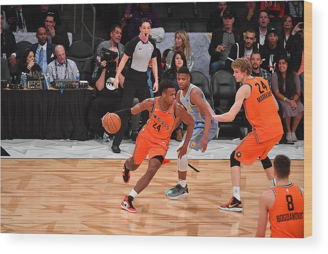 Event Wood Print featuring the photograph Buddy Hield by Jesse D. Garrabrant
