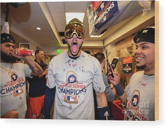 People Wood Print featuring the photograph Carlos Correa by Harry How