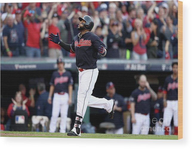 Game Two Wood Print featuring the photograph Carlos Santana by Elsa