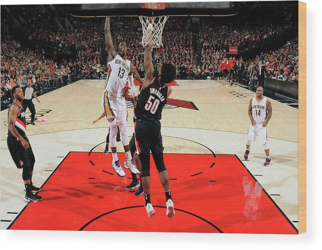 Nba Pro Basketball Wood Print featuring the photograph Cheick Diallo by Cameron Browne