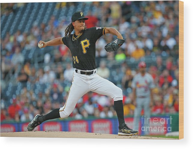 People Wood Print featuring the photograph Chris Archer by Justin K. Aller