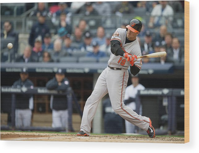 East Wood Print featuring the photograph Chris Davis by Rob Tringali