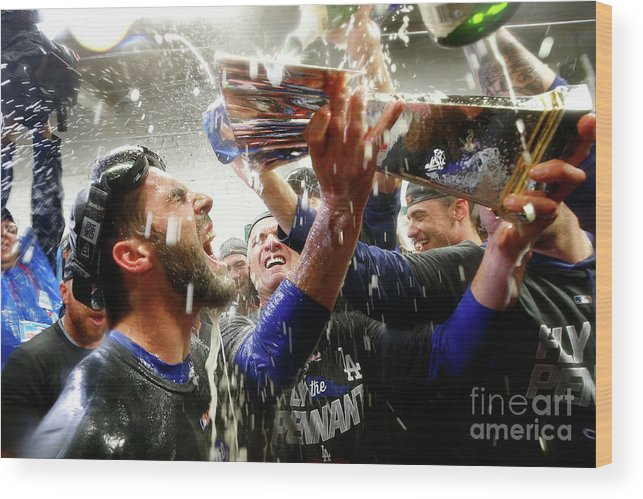 Championship Wood Print featuring the photograph Chris Taylor by Jamie Squire