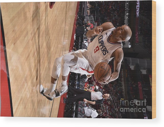 Nba Pro Basketball Wood Print featuring the photograph C.j. Williams by Bill Baptist