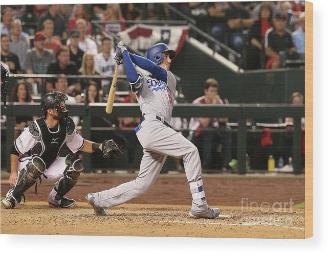 People Wood Print featuring the photograph Cody Bellinger by Christian Petersen
