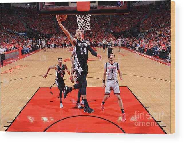 Playoffs Wood Print featuring the photograph Danny Green by Jesse D. Garrabrant