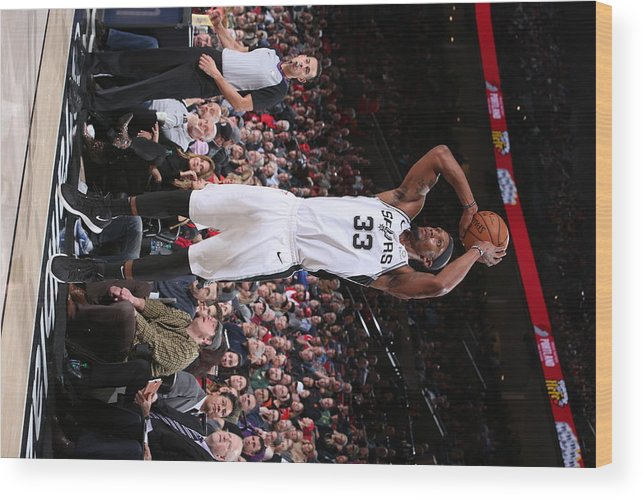 Nba Pro Basketball Wood Print featuring the photograph Dante Cunningham by Sam Forencich