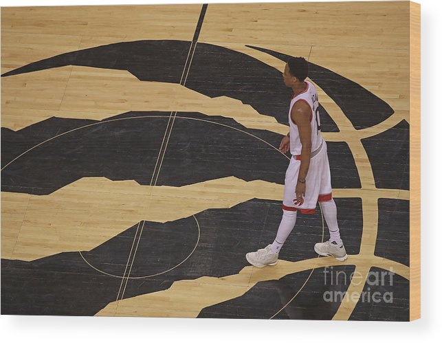 Playoffs Wood Print featuring the photograph Demar Derozan by Dave Sandford