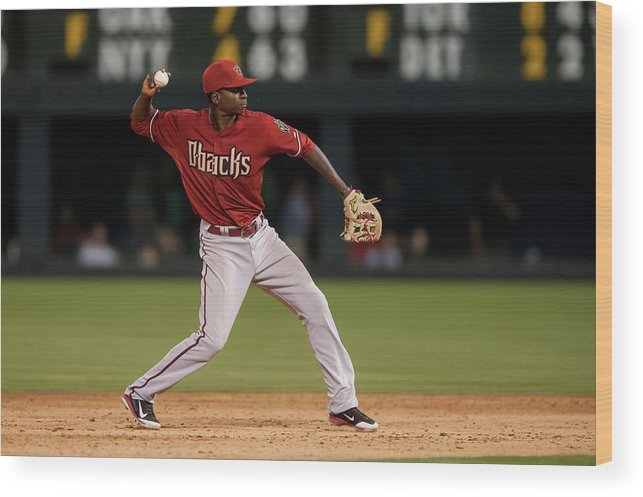 Ninth Inning Wood Print featuring the photograph Didi Gregorius by Dustin Bradford