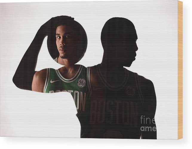 Nba Pro Basketball Wood Print featuring the photograph D.j. Wilson by Brian Babineau