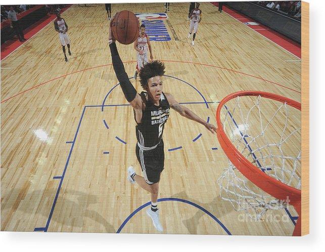 Nba Pro Basketball Wood Print featuring the photograph D.j. Wilson by Garrett Ellwood