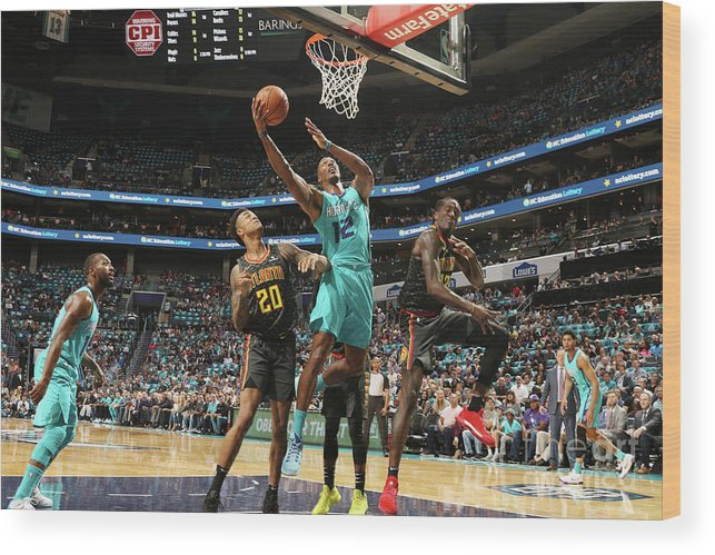Nba Pro Basketball Wood Print featuring the photograph Dwight Howard by Brock Williams-smith
