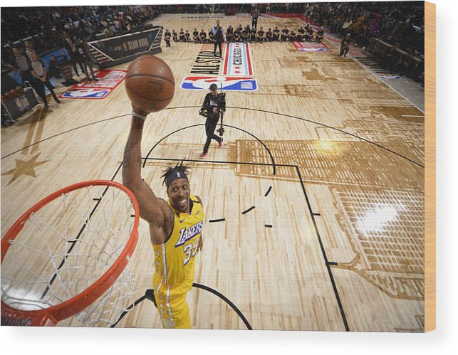 Nba Pro Basketball Wood Print featuring the photograph Dwight Howard by Jesse D. Garrabrant