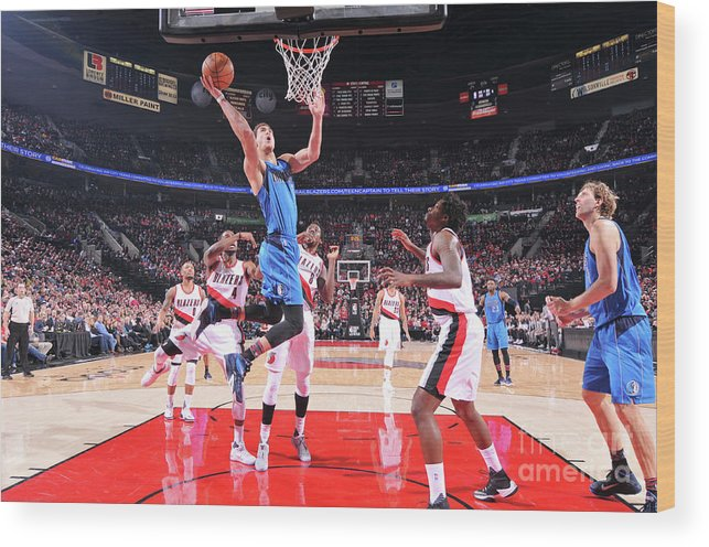 Dwight Powell Wood Print featuring the photograph Dwight Powell by Sam Forencich