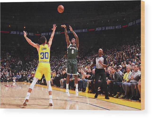 Nba Pro Basketball Wood Print featuring the photograph Eric Bledsoe by Noah Graham