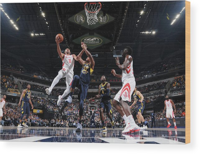 Nba Pro Basketball Wood Print featuring the photograph Eric Gordon by Ron Hoskins