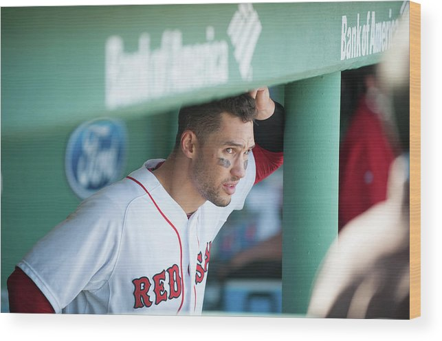 East Wood Print featuring the photograph Grady Sizemore by Rob Tringali