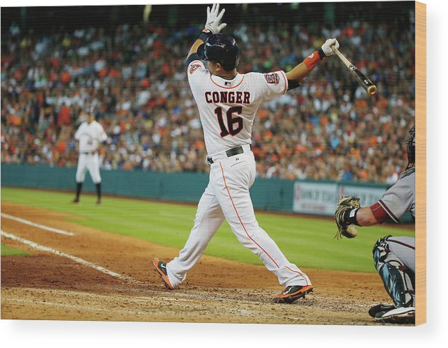 People Wood Print featuring the photograph Hank Conger by Scott Halleran
