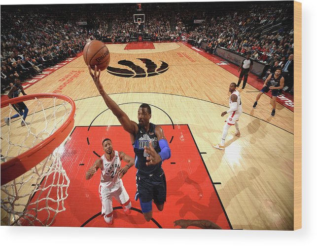 Nba Pro Basketball Wood Print featuring the photograph Harrison Barnes by Ron Turenne