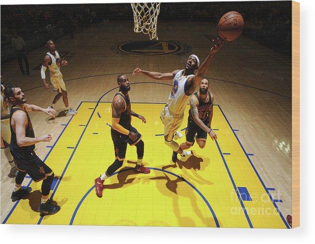 Playoffs Wood Print featuring the photograph Ian Clark by Garrett Ellwood