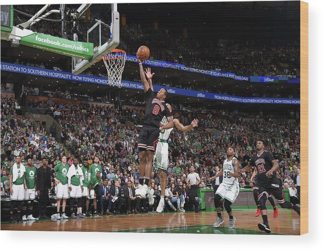 Playoffs Wood Print featuring the photograph Isaiah Canaan by Brian Babineau