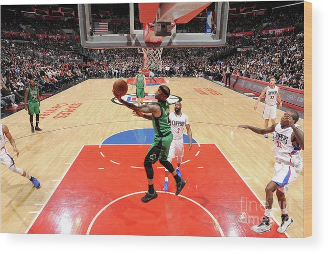 Nba Pro Basketball Wood Print featuring the photograph Isaiah Thomas by Andrew D. Bernstein