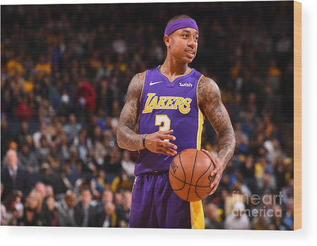 Nba Pro Basketball Wood Print featuring the photograph Isaiah Thomas by Noah Graham