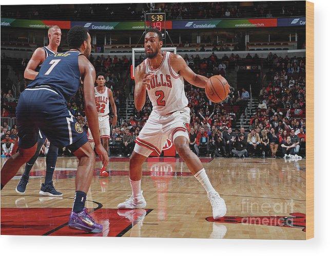 Nba Pro Basketball Wood Print featuring the photograph Jabari Parker by Jeff Haynes