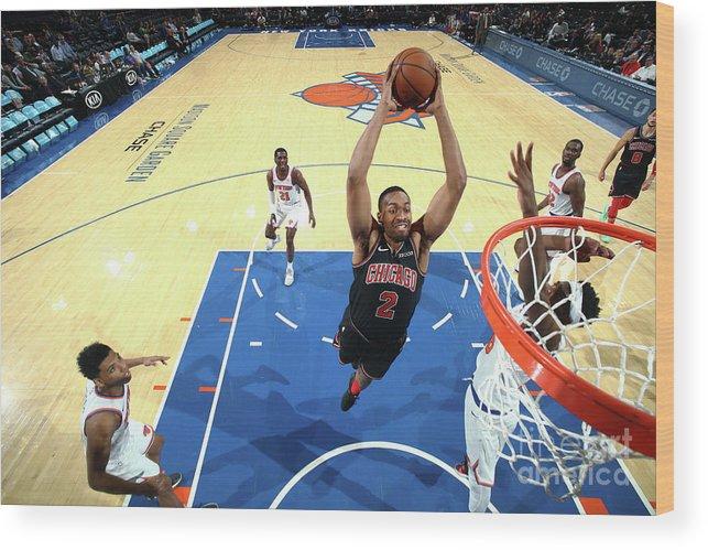 Nba Pro Basketball Wood Print featuring the photograph Jabari Parker by Nathaniel S. Butler