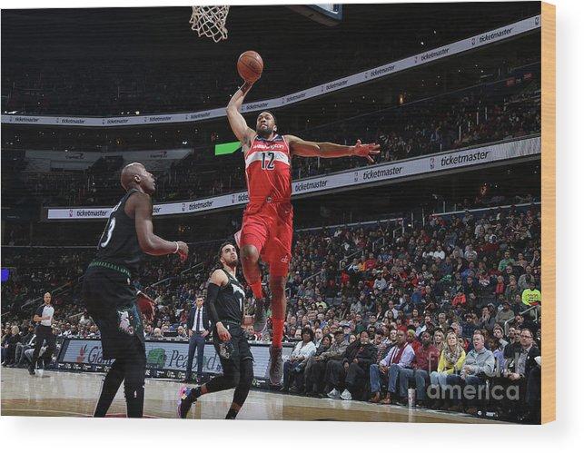 Nba Pro Basketball Wood Print featuring the photograph Jabari Parker by Stephen Gosling