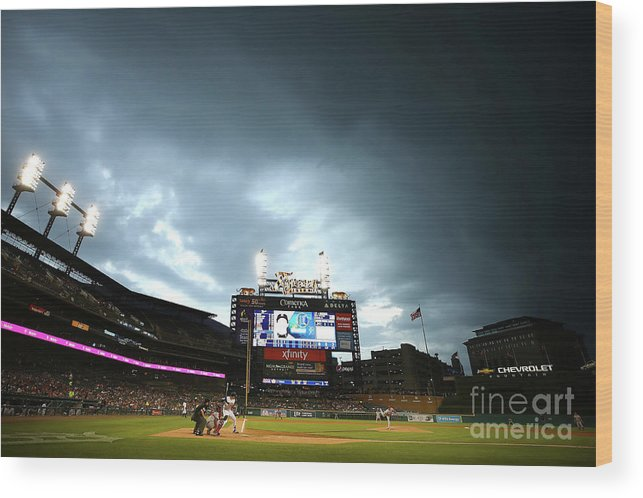 People Wood Print featuring the photograph Jacoby Jones by Gregory Shamus