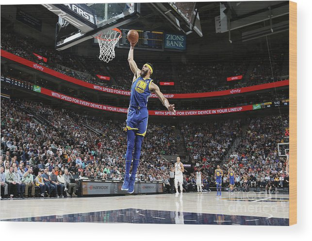 Nba Pro Basketball Wood Print featuring the photograph Javale Mcgee by Melissa Majchrzak