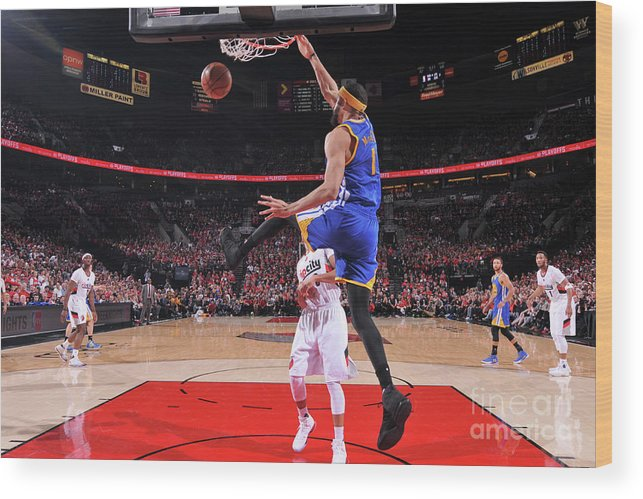 Playoffs Wood Print featuring the photograph Javale Mcgee by Sam Forencich