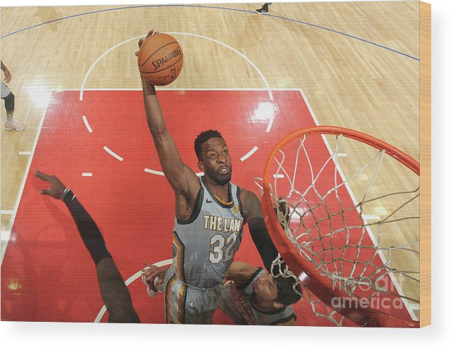 Nba Pro Basketball Wood Print featuring the photograph Jeff Green by Andrew D. Bernstein