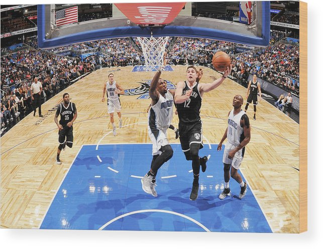Nba Pro Basketball Wood Print featuring the photograph Joe Harris by Fernando Medina
