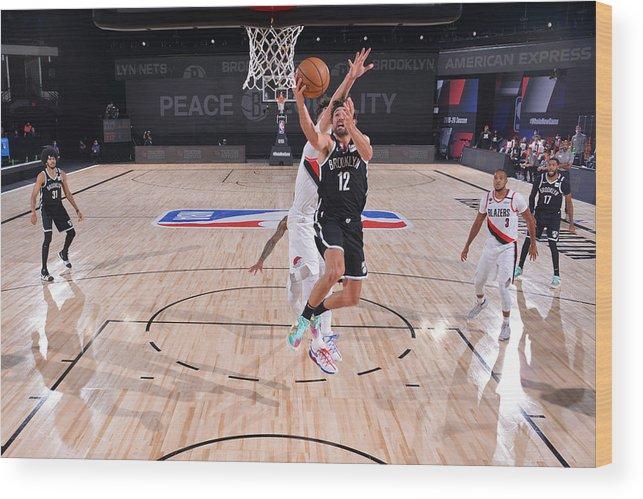 Nba Pro Basketball Wood Print featuring the photograph Joe Harris by Jesse D. Garrabrant