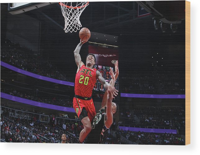 Atlanta Wood Print featuring the photograph John Collins by Jasear Thompson