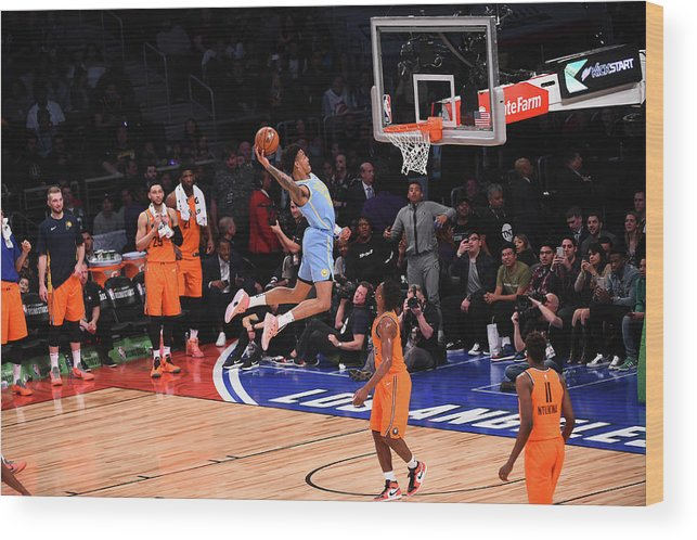 Event Wood Print featuring the photograph John Collins by Noah Graham