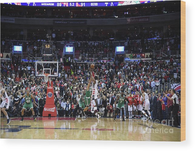 Playoffs Wood Print featuring the photograph John Wall by Brian Babineau