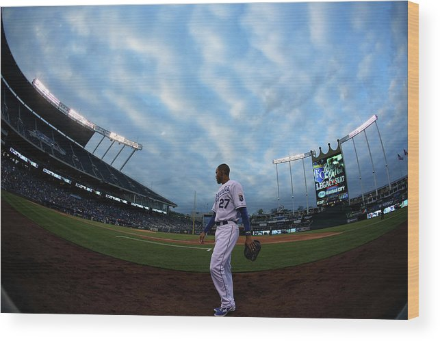 Second Inning Wood Print featuring the photograph Justin Maxwell by Ed Zurga