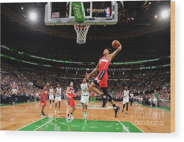 Nba Pro Basketball Wood Print featuring the photograph Kelly Oubre by Brian Babineau