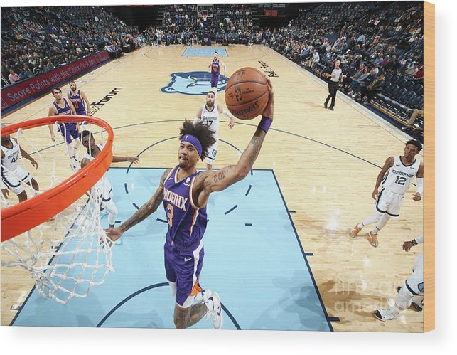 Nba Pro Basketball Wood Print featuring the photograph Kelly Oubre by Joe Murphy