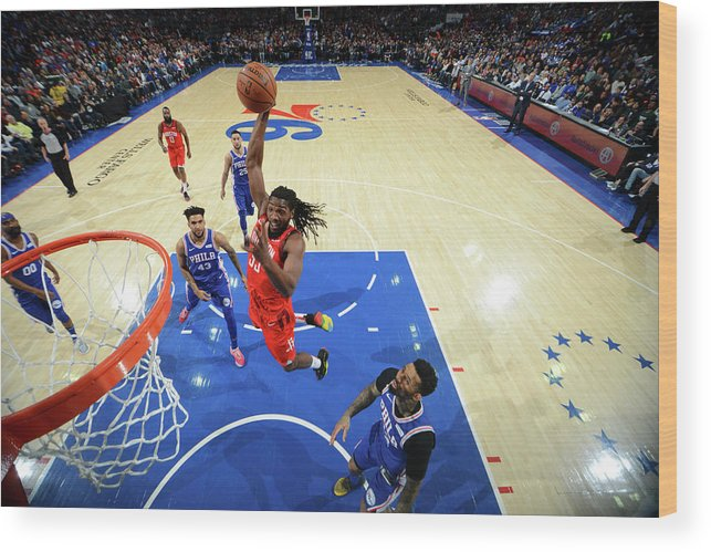 Nba Pro Basketball Wood Print featuring the photograph Kenneth Faried by Jesse D. Garrabrant
