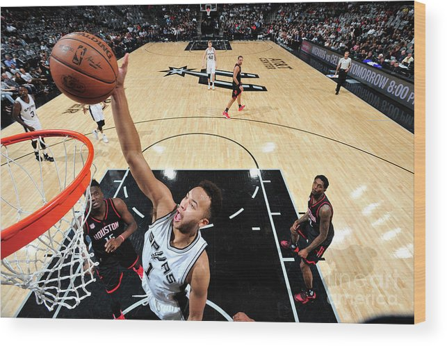 Playoffs Wood Print featuring the photograph Kyle Anderson by Mark Sobhani