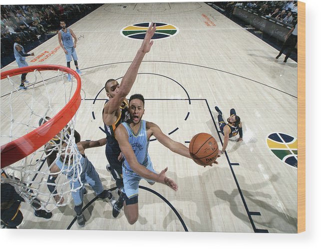 Nba Pro Basketball Wood Print featuring the photograph Kyle Anderson by Melissa Majchrzak