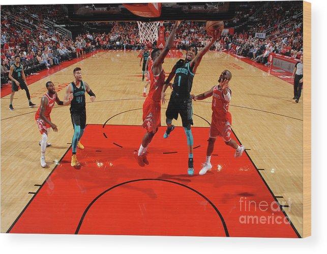 Nba Pro Basketball Wood Print featuring the photograph Malik Monk by Bill Baptist