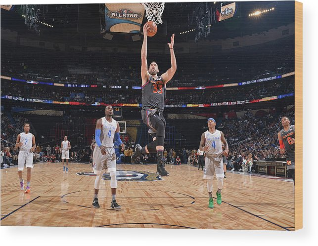 Event Wood Print featuring the photograph Marc Gasol by Jesse D. Garrabrant